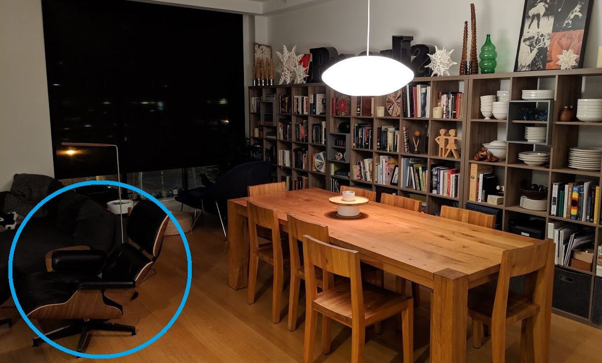 Eames real chair