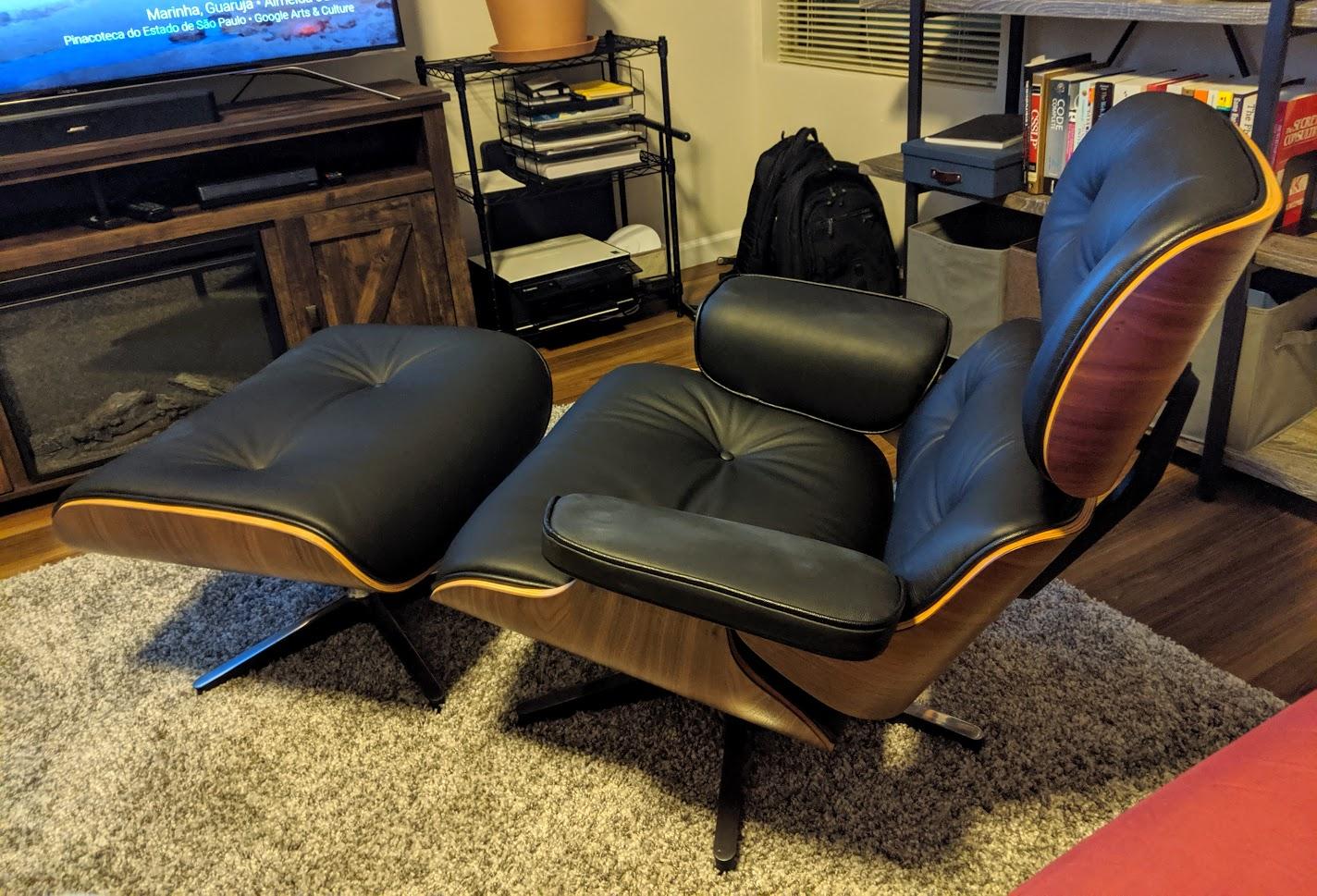 Eames replica chair